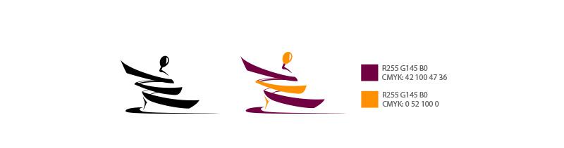 Цвета из руководства к логотипу фабрики игрушек «Упс-пупс»
