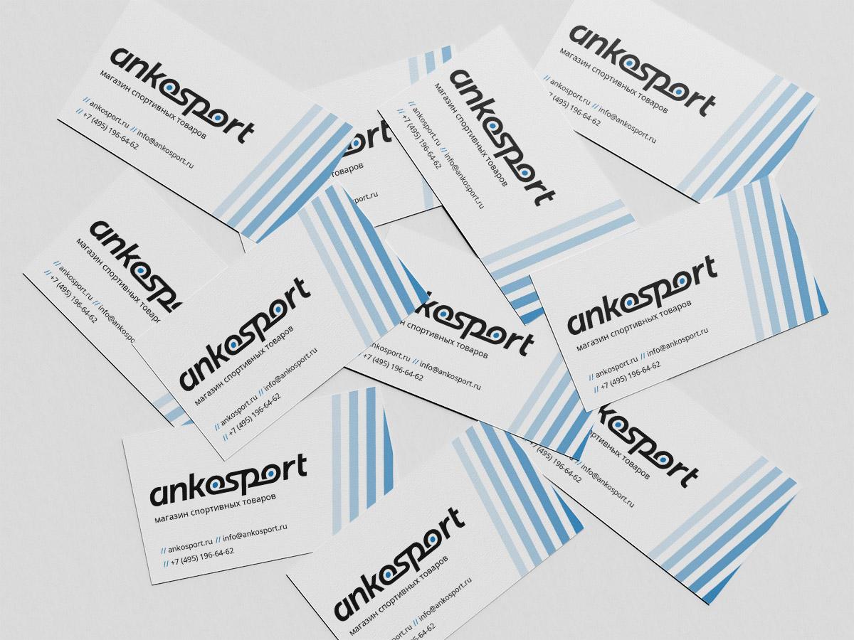 Визитки Ankosport