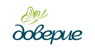 Утвержденный вариант логотипа психологической службы «Доверие»