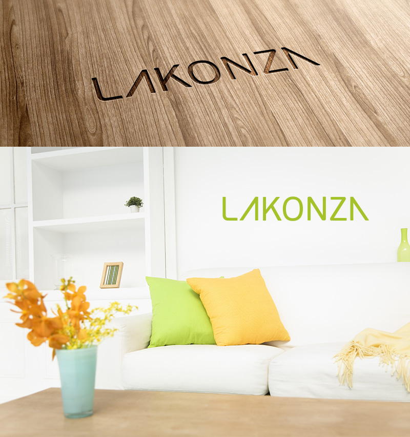 Логотип магазина мебели «Lakonza»