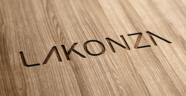 Логотип мебельного интернет-магазина Lakonza