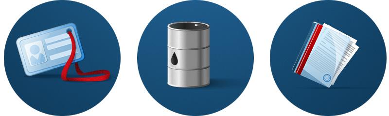 иконки для сайта нефтегазовой компании