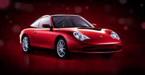 Дизайн промосайта для Porsche
